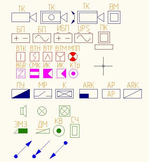 блоков слаботочных систем